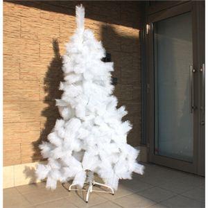 【クリスマス】180cm ホワイトパインツリー SZ613W/6 - 拡大画像
