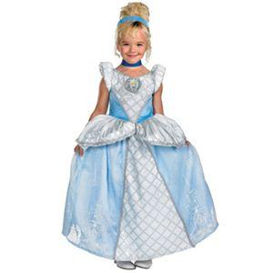 【コスプレ】 disguise Cinderella Storybook Cinderella Prestige 7-8 シンデレラ (キッズ・子供用) - 拡大画像
