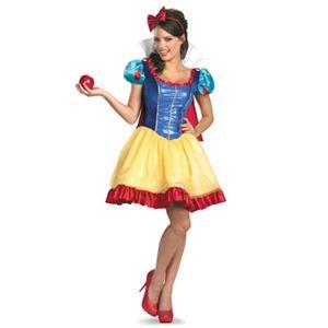 【コスプレ】 disguise Snow White / Deluxe Sassy Snow White (adult female) 12-14 白雪姫 - 拡大画像