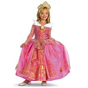 【コスプレ】 disguise Sleeping Beauty / Storybook Aurora Prestige 4-6X 眠り姫 (キッズ・子供用) - 拡大画像