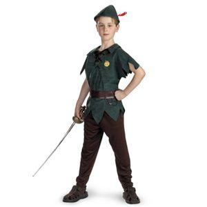 【コスプレ】 disguise Peter Pan / Peter Pan Classic 3T-4T ピーターパン (キッズ・子供用) - 拡大画像