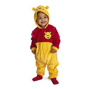 【コスプレ】 disguise 5490 Winnie The Pooh Classic Infant 12-18M くまのプーさん キッズ・子供用 - 拡大画像