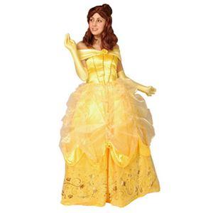 【コスプレ】 RUBIE'S(ルービーズ) 95086 Dress Up Adult Belle ベル Stdサイズ - 拡大画像