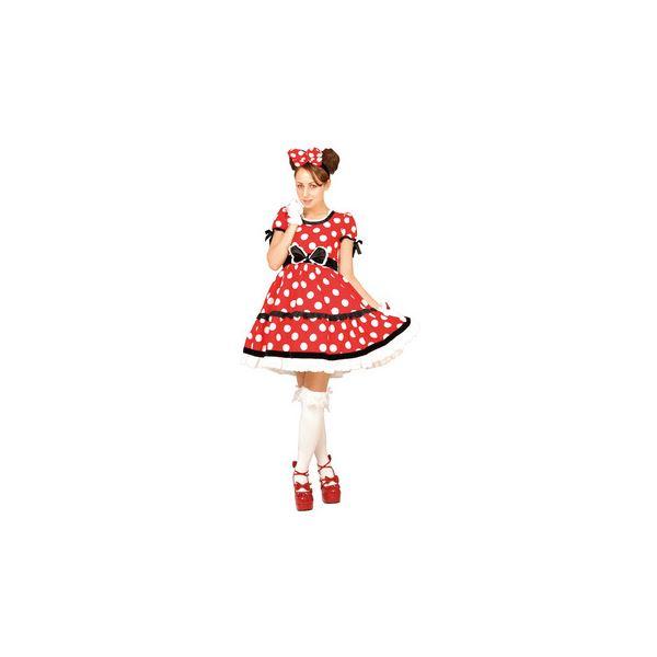【コスプレ】 RUBIE'S(ルービーズ) 95074 Gothic Costume Adult Minnie Red ゴシックミニー レッド Stdサイズ