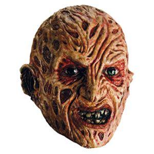 【コスプレ】 RUBIE'S(ルービーズ) 4167 Freddy 3/4 Vinyl Adult Mask フレディ マスク (エルム街の悪夢) - 拡大画像