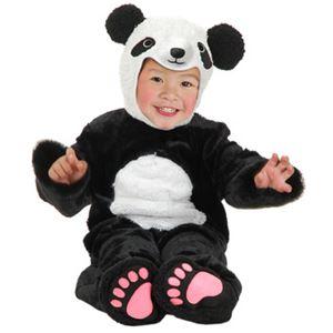 【コスプレ】LITTLE PANDA W/SNAP TAPE INFANT ベビー用(Inf) - 拡大画像