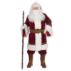 【コスプレ】Old Time Santa Hooded Robe Set 大人用(Std) - 拡大画像