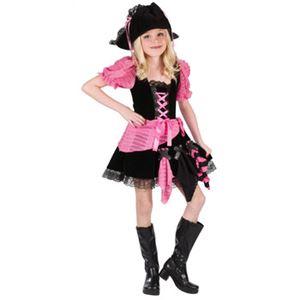 【コスプレ】Sml Pink Punk Pirate Chld Cstm 子供用(S) - 拡大画像