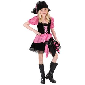 【コスプレ】Lrg Pink Punk Pirate Chld Cstm 子供用(L) - 拡大画像