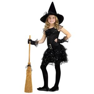 【コスプレ】Med/Glitter Witch Child Cstm 子供用(M) - 拡大画像