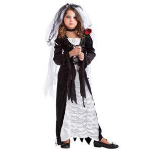 【コスプレ】Lrg Child Bride of Darkness 子供用(L) - 拡大画像