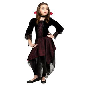 【コスプレ】Sml/Lady Dracula Chld Cstm 子供用(S) - 拡大画像