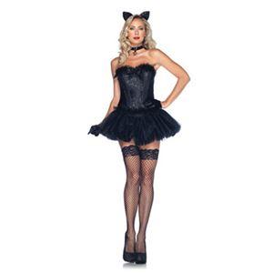 【コスプレ】Black Cat Babe 大人用(M) - 拡大画像
