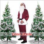 【クリスマスコスプレ 衣装】メンズサンタ Men's Santa costume DK RED VELVET レッド