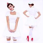 CLUB QUEEN Sweet Nurse(スウィートナース) 【 コスプレ 衣装 ハロウィン コスチューム 看護師 大人用 女性用 】