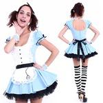 CLUB QUEEN Sexy Alice(セクシーアリス) 【 衣装 コスプレ ハロウィン 大人 コスチューム 不思議の国のアリス 女性用 】