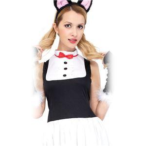 コスプレ衣装/コスチューム 【Lady Cat レディキャット】 ポリエステル 『CLUB QUEEN』 〔ハロウィン イベント〕 - 拡大画像