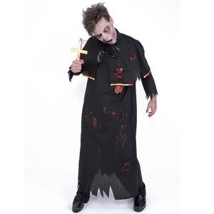 コスプレ衣装/コスチューム 【Father ゾンビ神父】 ポリエステル 『ZOMBIE COLLECTION Zombie』 〔ハロウィン〕 - 拡大画像