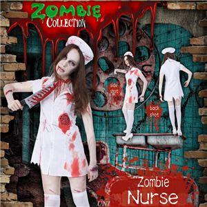 コスプレ衣装/コスチューム 【Nurse ゾンビナース】 ポリエステル 『ZOMBIE COLLECTION Zombie』 〔ハロウィン〕 - 拡大画像