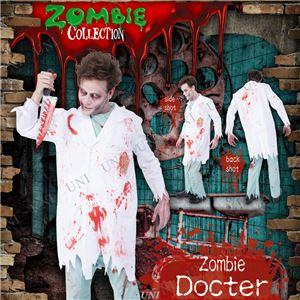 コスプレ衣装/コスチューム 【Docter ゾンビドクター】 ポリエステル 『ZOMBIE COLLECTION Zombie』 〔ハロウィン〕 - 拡大画像