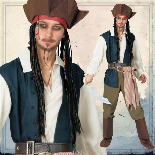 【海賊 コスプレ衣装 メンズ】802537 Adult Jack Sparrow ジャックスパロウ 大人用