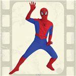 【コスプレ】802940 Adult Spiderman (スパイダーマン 大人用)