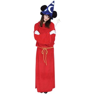 コスプレ衣装/コスチューム 【Adult Micky Mouse Fantasia ミッキーファンタジア】 大人用 〔ハロウィン イベント〕 - 拡大画像