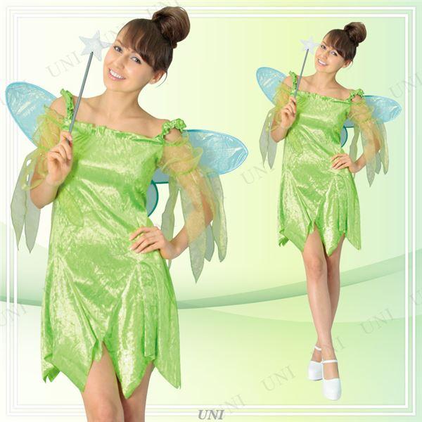 【ハロウィン 妖精 コスプレ衣装】802536 Adult Tinkerbell ティンカーベル大人用