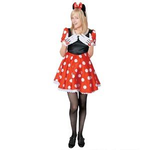 コスプレ衣装/コスチューム 【Adult Pretty Minnie ミニーマウス】 大人用 〔ハロウィン イベント〕 - 拡大画像