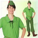 ディズニーコスプレ/コスプレ衣装 【Adult Peter Pan ピーターパン】 大人用 〔ハロウィン イベント〕