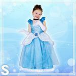 コスプレ衣装/コスチューム 【Child Dx Cinderella S シンデレラ】 子供用 〔ハロウィン イベント〕