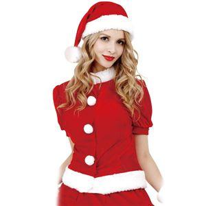 クリスマスコスプレ/衣装 【Pop Glove Santa ポップグローブサンタ】 レディース 『CLUB QUEEN』 〔イベント パーティー〕 - 拡大画像