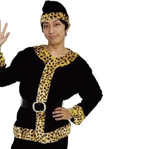 クリスマスコスプレ/衣装 【レオパードサンタ】 メンズ 『Patymo』 〔イベント パーティー〕 - 拡大画像