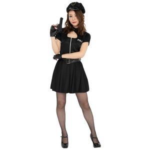 コスプレ衣装/コスチューム 【Sexy Police セクシーポリス】 レディース 〔ハロウィン イベント〕 - 拡大画像