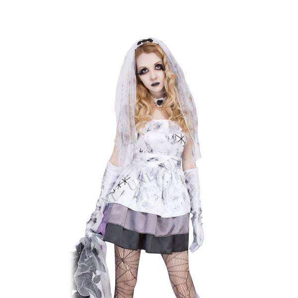 ホラーな花嫁ドレス「Madness Wedding ウエディング」