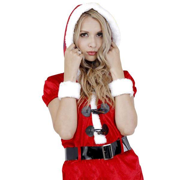 フードロンパースサンタ(CLUB QUEEN Hood Rompers Santa)