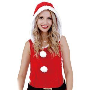 【クリスマスコスプレ 衣装】CLUB QUEEN Overall Santa(オーバーオールサンタ) - 拡大画像