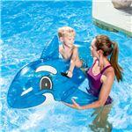シャチ型 フロート/浮き輪 【縦約148cm×横約84cm×高さ約68cm】 ポリ塩化ビニル Transparent Whale Rider 〔プール ビーチ〕