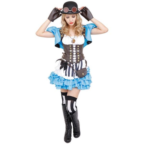 スチームパンク アリス コスプレ衣装「STEAMPUNK Clock Alice(クロックアリス)」
