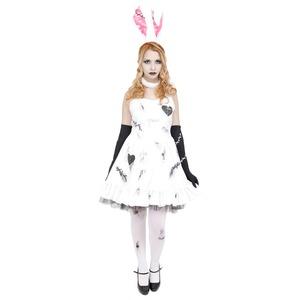 コスプレ衣装/コスチューム 【Crazy Bunny バニーガール】 ワンピース 『DEath of Doll』 〔ハロウィン イベント〕