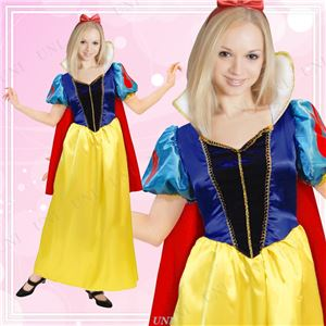 ディズニーコスプレ/コスプレ衣装 【Adult Snow White 白雪姫】 大人用 〔ハロウィン イベント〕 - 拡大画像