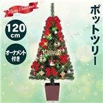 クリスマスツリー 【クリスマスシーン】 120cmサイズ 『ディズニーセットツリー』 〔イベント パーティー〕