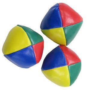 Patymo ジャグリング用ボール 3個入 - 拡大画像