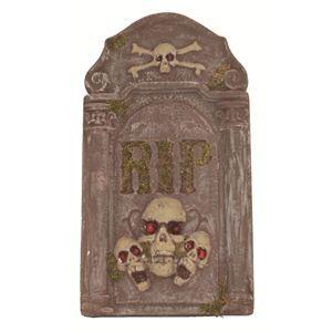 【コスプレ】 RUBIE'S(ルービーズ) HALLOWEEN(ハロウィン) Gravestone - Skeleton(グレーブストーン スケルトン) - 拡大画像