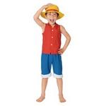 【コスプレ】 RUBIE'S (ルービーズ) Child Monky.D. Luffy Todサイズ(キッズ・子供用)