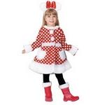 【コスプレ】 RUBIE'S (ルービーズ) Child White Minnie (ホワイトミニー)Mサイズ