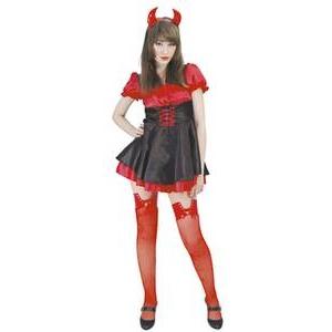 【コスプレ】 RUBIE'S (ルービーズ) レッドセクシーデビル Red Sexy Devil Stdサイズ - 拡大画像
