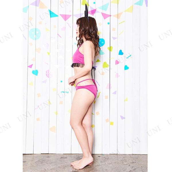 コスプレ水着/コスチューム 【Pink Bunny(ピンクバニー)】 レディース 『Coswim』 〔フェス イベント ライブ〕