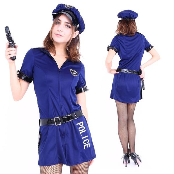 コスプレ衣装/コスチューム 【Navy Police(ネイビーポリス)】 『CLUB QUEEN』 レディース 〔ハロウィン イベント〕