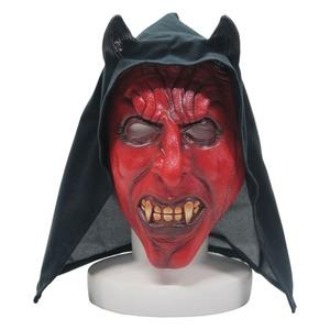 マスク/コスプレ【デビルマスク Devil Mask(フード付き)】『Uniton』〔ホラー,イベント〕 - 拡大画像
